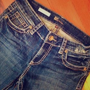 KUT from the Kloth Petite Bootcut/Flair Jeans